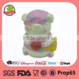 Kids Ceramic Cartoon Pig Shape Cute Pig Coin Bank