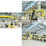 3&5 ply computerised high speed corrugated cardboard production line,packing machine