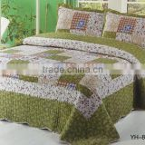 printed stylish pure cotton bed room furniture bed comforter set                                                                         Quality Choice