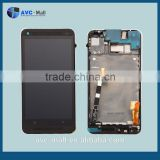 replacement LCD screen & digitizer assembly with frame for HTC One M7 black