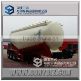 3 axle bulk cement transport truck, 40m3 bulk cement tanker semi trailer                                                                         Quality Choice