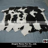 100% genuine Cow Hides Pelt with Hair on in natural color