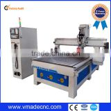 China automatic tool change spindle cnc router with loading and unloading sytem for furniture,doors,cabinets