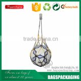 Fashion nylon carry mesh football net bag
