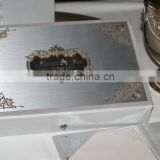 Silver Wedding Invitation Cards with acrylic mirror WHOLESALE