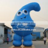 Customized great water drops mascot costume inflatable model                                                                                                         Supplier's Choice
