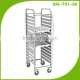Cheap Price Commercial Stainless Steel Baking Tray Trolley/Wholesale Kitchen Tray Trolley BN-T01~06