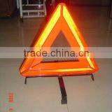 Waterproof triangle led solar flashing warning light