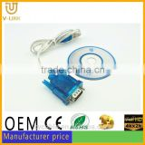 High speed usb rs232 to rj50 cable for computer Printer Camera Card Reader Digital devices