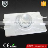 Most stable voltage AC led module CE Rohs approved waterproof 3w 310Lm high lumen 110V led light module for led sign billboard