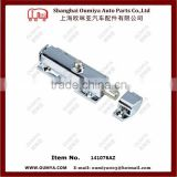 zinc plated button cabinet panel spring cabinet latch 141076AZ