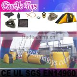 paintball bunker inflatable laser tag
