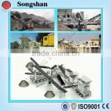 Hot Sale Movable rock crusher plant; portable stone Crusher Plant; mobile stone crusher plant