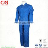 Nomex Flight Coverall Flame Resistant Blue
