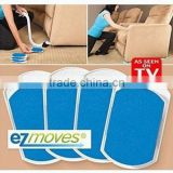 EZ Moves Furniture Moving System with Lifter Tool & 8 Slides AS SEEN ON TV NEW!
