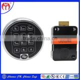 High Quality UL listed Keyless Entry Electronic Keypad Lock SG6123/6124 with timer for safe box/ vault/ bank