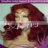 Fashion Style Red Synthetic Lace Front Wig Density 150%~180% Synthetic Lace Front Wig,Synthetic Hair Wigs