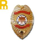 cheap die cast zinc alloy soft enamel souvenir custom epoxy metal badges