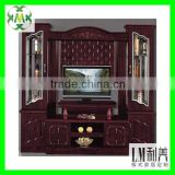 Living room furniture lcd tv wall units in modern design 700609