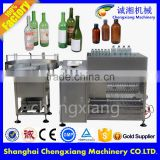 High speed glass bottle production line,glass bottle filling line,bottle rinser