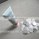 plastic cap security seal for cosmetics jar cover