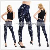 wholesale 2014 cotton spandex super soft printed leggings; custom sublimation pantyhouse; custom printed legging