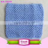 2015 Wholesale Newborn Baby Girls blue Crochet Tube Top NB-12M