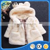new design baby girls clothes faux fur winter coat