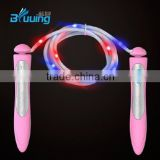 Wholesale Bluuing brand speed jump rope for children/led light up toys jump rope/jump rope ball