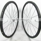 High end wheels 30mm tubular carbon bicycle wheels 20H front 24H rear for road bike cycling