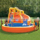 2016 cheap and high quality inflatable water slide, giant water toys for kids, inflatable slide