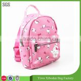 New Hello Kitty girls PU school bag kids backpack