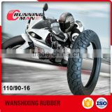 Qingdao Supplier Import Motorcycle Tyre Casing From China 110/90-16
