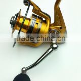 Gold fishing reel aluminium spool fishing tackle