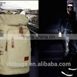 Vintage Washing Canvas Outdoor Military Mens Womens Teenagers School Rucksack Backpack Travel Bag