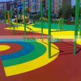 Kids amusement park outdoor playground flooring FN-J-0319-22