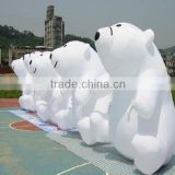 inflatable polar bear cartoon