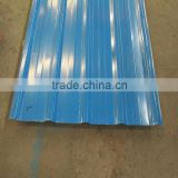 Gauge thickness China Supplier Zinc color coated corrugated roofing material steel sheet