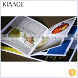 Cheap new arrival wholesale school custom printing perfect binding garment brochure design