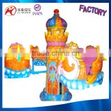 Fairground merry go round carousel for sale coin operated kiddie rides carousel for sale