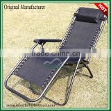 USA Market Outside Deck Chair/Wholesale Folding Deck Chair Dia22mm Steel Tube