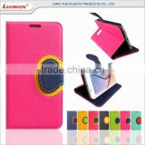 Rohs Spell Color Leather Flip Mobile Phone Case Cover for HTC one max m7 m8 m9 plus 10