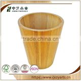 Simple Cheap Hanging Natural Accept OEM rustic hinging storage coffee bean wooden beer barrel