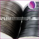 High quality 0.5---4.0mm round korea cotton waxed cord black and coffee for bracelet necklace garments wholesale