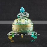 Chinese Crystal Incense Burner -1