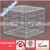 Hot sale! Galvanized gabion box/welded mesh gabion baskets