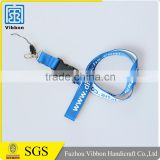 China supplier promotional top quality bling lanyard with name tag
