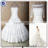JJ3629 Beaded Ball gown taffeta ball gown Real pictures tailored wedding dresses china
