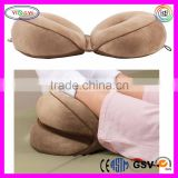 F057 100% Polyester Cover Folding Posture Support Cushion Memory Foam Interior Folding Cushion