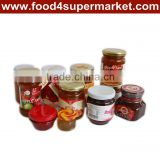 Peach/Apricot Fruit Jam with 370g glass bottle